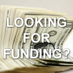 looking for funding?